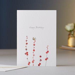 EH026 - Butterfly & Blossom Birthday