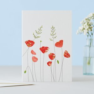 EH112 - Poppies & Grass