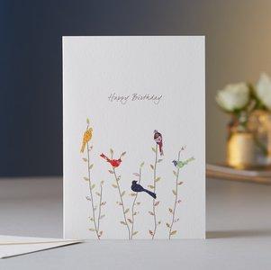 EH023 - Spring Birds Birthday