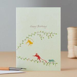 EH095 - Three Monkeys Birthday