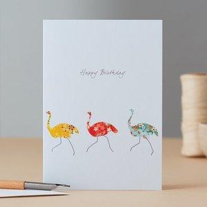EH089 - Three Ostriches Birthday