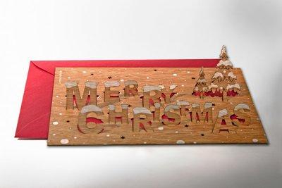 478 -  Merry Christmas Pop Up