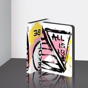 55065 - Notitieboek A6 - All is Lovezacht leer