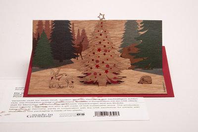 1530 -  kerst in het woud Pop Up